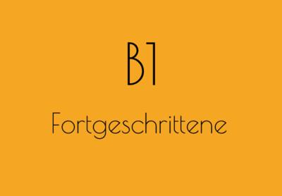 B1 | 18:00 - Montag