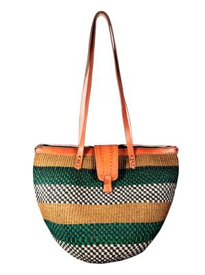 Zipped Handbag  Basket