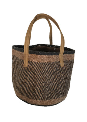 """Upcycled Large Basket - 15"""""""