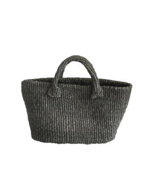 Grey Tote / Briefcase Style Basket