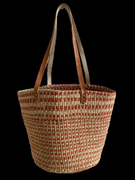 Orange Stripes Basket