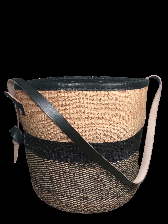 Black And Beige Basket
