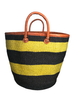 Black And Yellow Basket