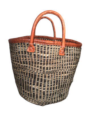 Varied Checkered Basket