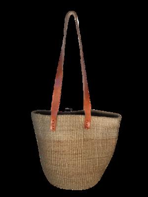 Gold Tote  Basket