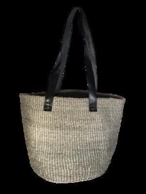 Grey Tote  Basket