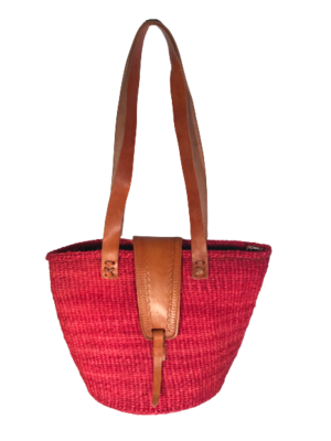 Red Tote  Basket