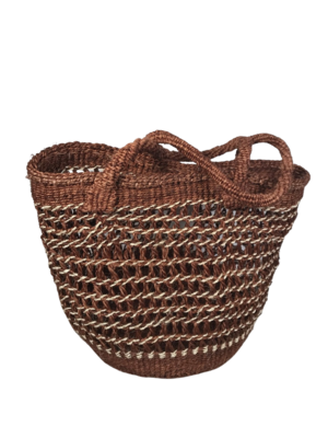 Netted Tote  Basket