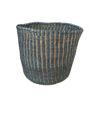 Striped Planter Basket