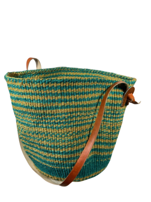 Green and Beige Basket