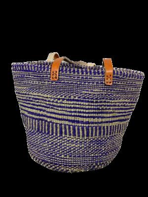 Zebra Style Purple Basket