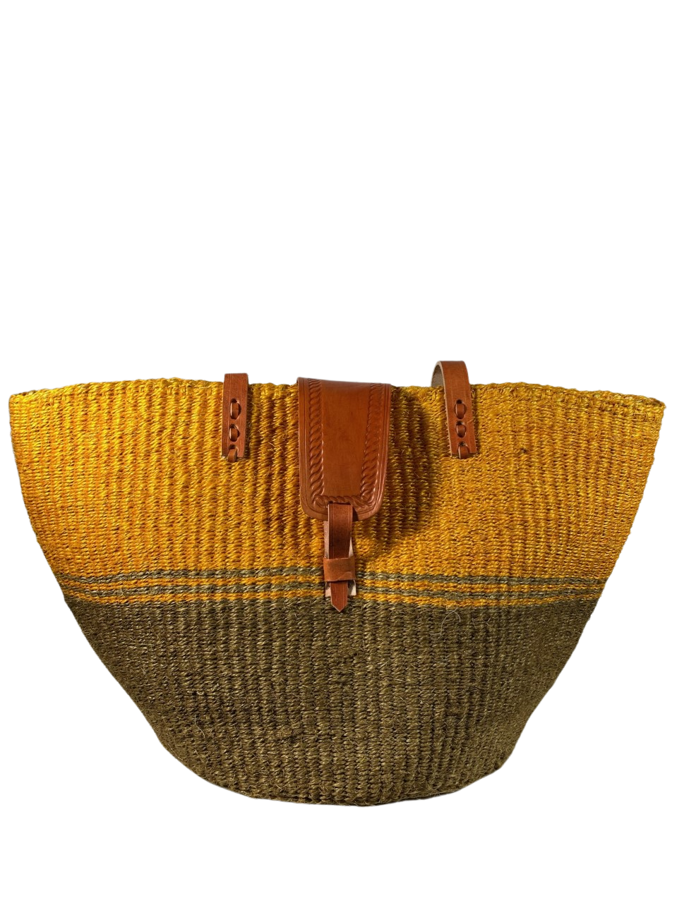 Mango And Beige Tote Bag
