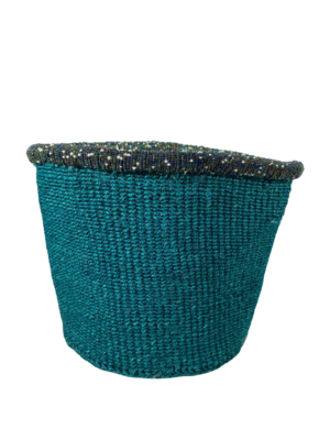 Turquoise Planter Basket