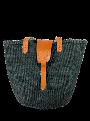 Charcoal Black Tote  Bag