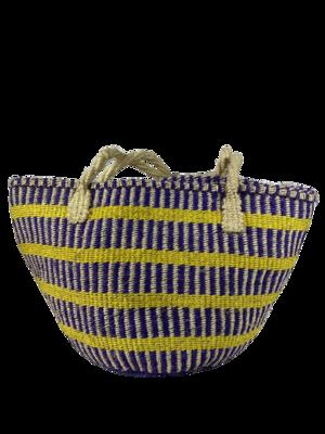 Purple And Yellow Tote  Bag