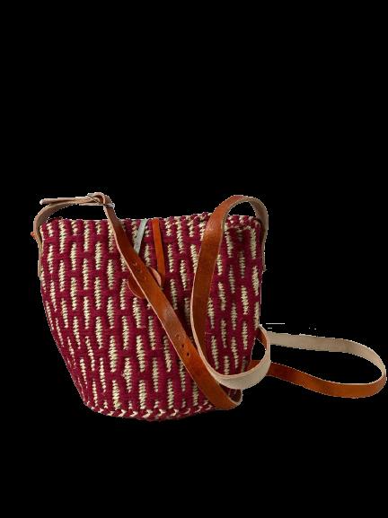 Maroon Crossbody Bag