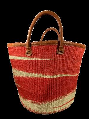 Zebra Coral Basket