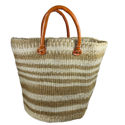 Zebra Beige Basket