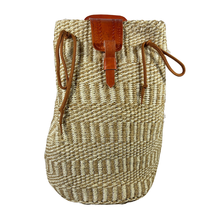 Vertical Lined Backpack