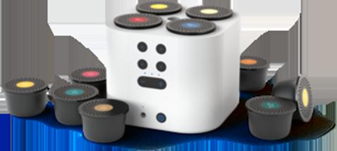 Smart Aroma Diffuser Wit incl. capsule set