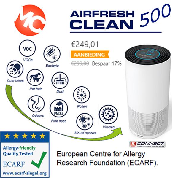 Soehnle luchtreiniger airfresh clean connect 500