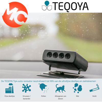 Teqoya Tip4 Auto luchtreiniger