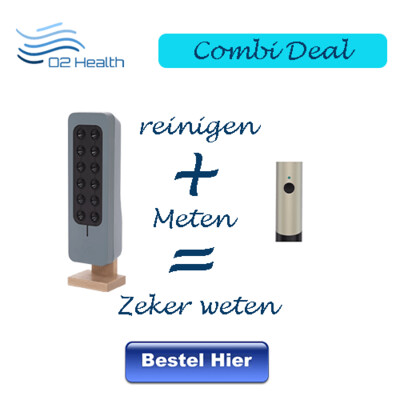 Combi deal Atmotube en Teqoya 200