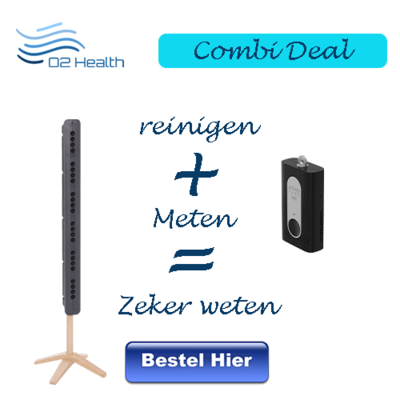 Combi deal Atmotube en Teqoya 450