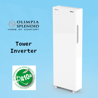 Unico Tower Inverter 12 HP Airco en Verwarming
