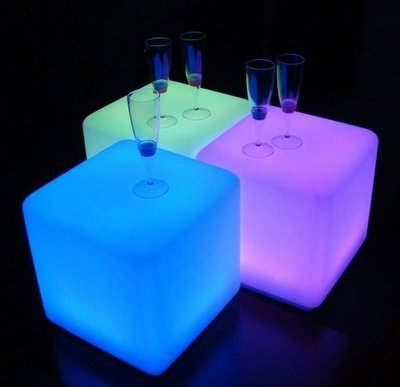 Multicolour Magic Light Light Cubes