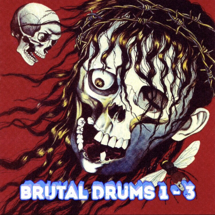 Brutal Drums 1, 2 And 3 Package Deal