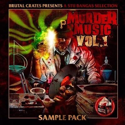 "Brutal Crates ""Murder Music"" Volume 1 Sample Pack"