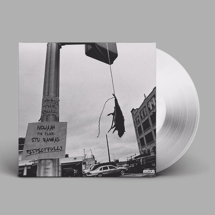 "Nowaah the Flood and Stu Bangas ""Respectfully"" LP - Limited Edition Clear Vinyl (100 Available)"