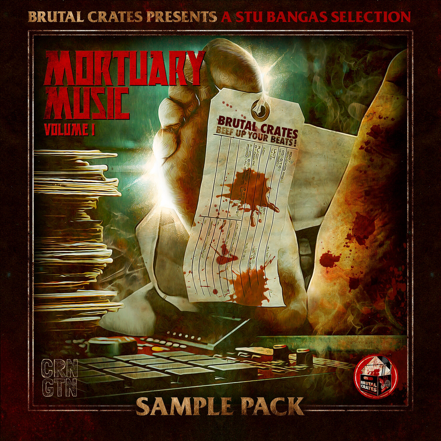 "Brutal Crates ""Mortuary Music"" Volume 1 Sample Pack (Stems included)"