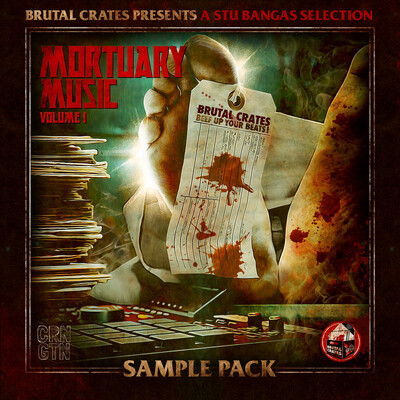 "Brutal Crates ""Mortuary Music"" Volume 1 Sample Pack (Stems included) PRE ORDER"