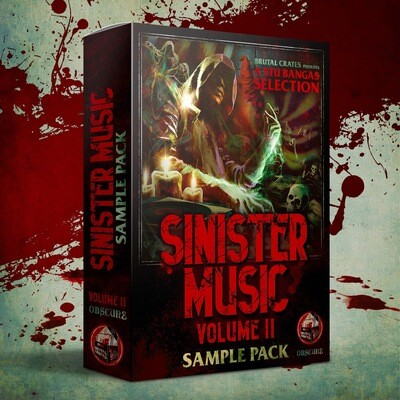 Sinister Music Volume 2 with Stems (Pre Order)
