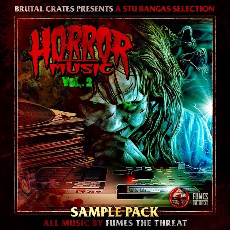 """Brutal Crates """"Horror Music"""" Volume 2 Sample Pack WITH STEMS - OUT NOW"""