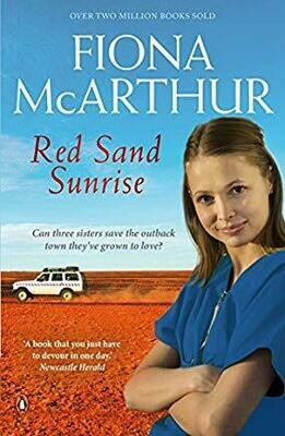 THREE BOOKS- Red Sand Sunrise, The Baby Doctor, The Bush Telegraph