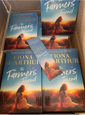 BOOKMARK FREE - THE FARMER'S FRIEND signed Bookmark