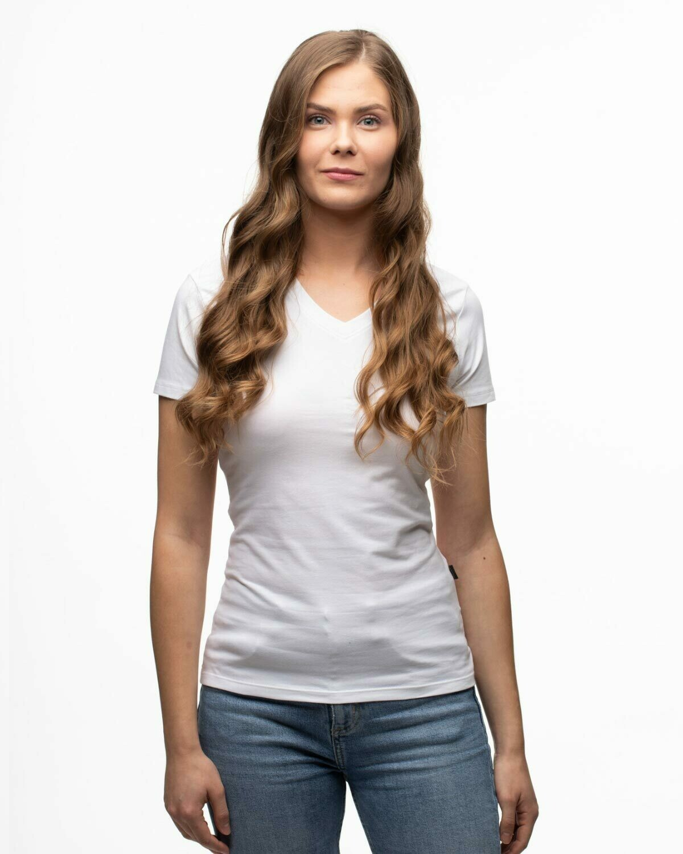 Switcher BIO V-Ausschnitt T-Shirt Damen GIORGIA