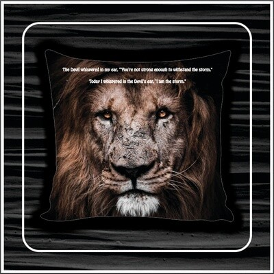 Mighty Lion Pillow