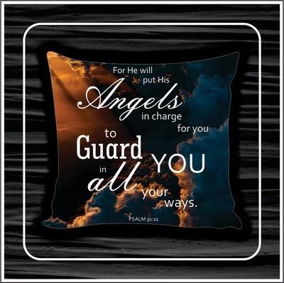 Angel cloud pillow
