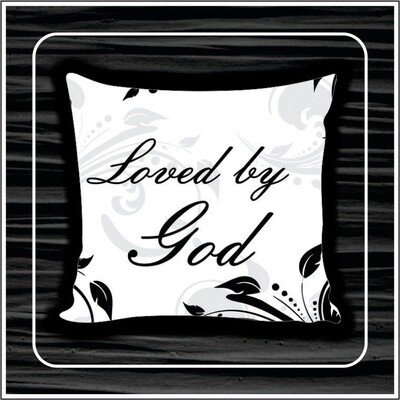 Loved by God pillow