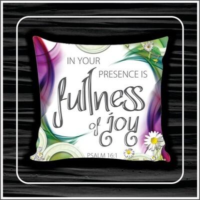 Fullness of joy pillow