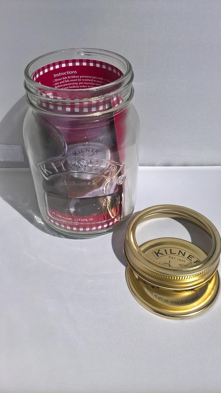 1ltr Kilner Preserving Pickling Jam Jar