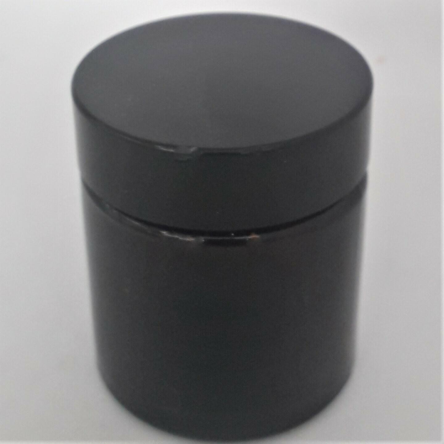 30ml Cosmetic Ointment Amber Glass Squat Jars