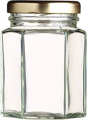 Pallet of 280ml 12oz Hexagonal Jar Price includes Standard Carriage & VAT