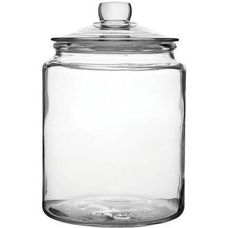 Pack of 6 x Biscotti Large Glass Jars 3.8L