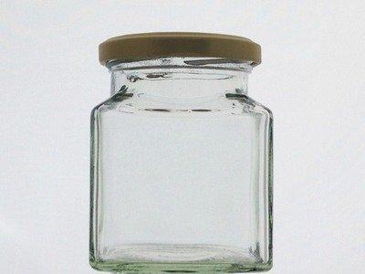Square Glass Jar - 282ml 12oz