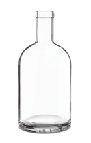 200ml Nocturne Bottle with cap cork
